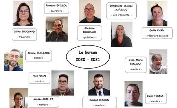 Bureau du club 2020-2021