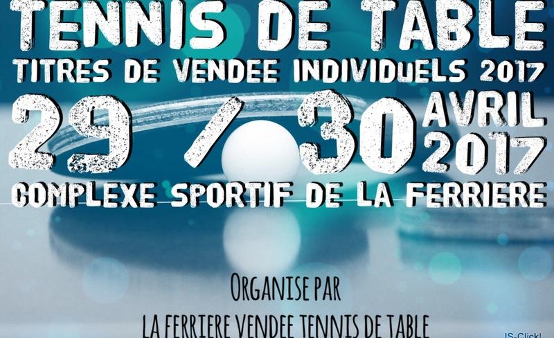 Titres de Vendée individuels 2017