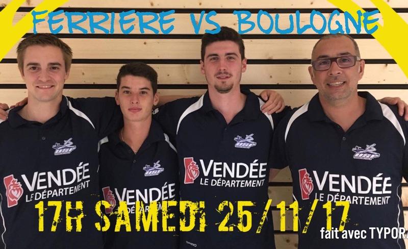 Ferrière N2 vs Boulogne