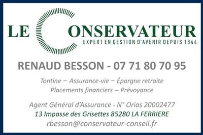 Renaud Besson Le Conservateur